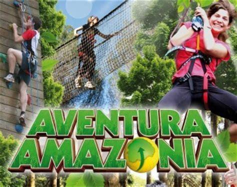Circuito en los árboles en Aventura Amazonia Cercedilla ...