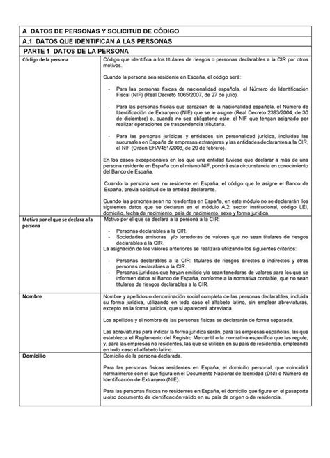 Circular 1/2013, de 24 de mayo, del Banco de España, sobre ...