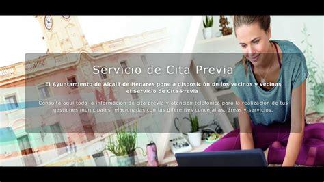 Cita Previa Ayuntamiento de Alcalá de Henares   YouTube