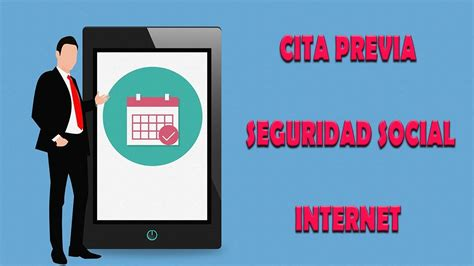 Cita previa en la seguridad social por internet   YouTube