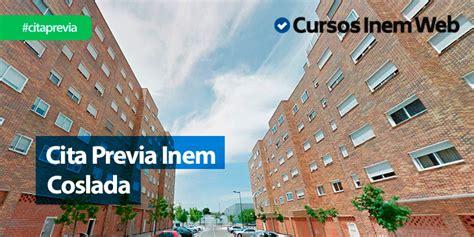 Cita Previa INEM Coslada | Cursosinemweb.es
