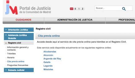 Cita Previa Registro Civil de Madrid   Parainmigrantes
