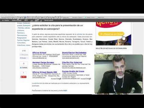Cita Previa Renovación Residencia Larga Duración   YouTube