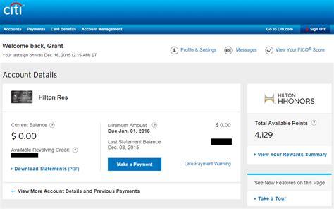 Citi Hilton HHonors Reserve Credit Card Annual Fee ...