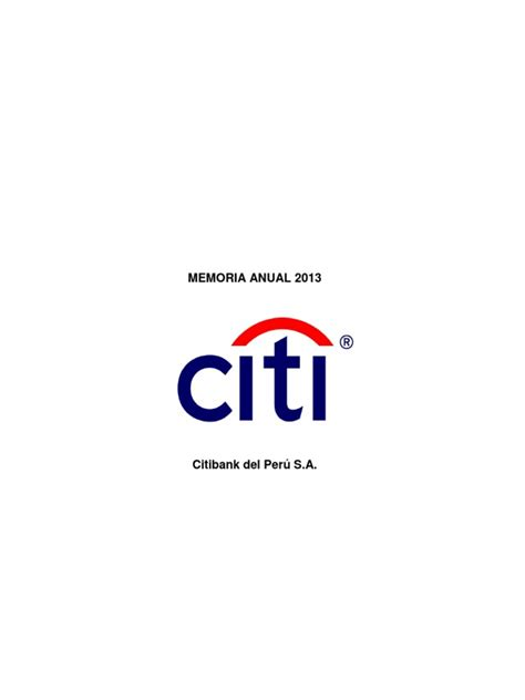 citibank Memoria Anual2013 | Citibank | Inflación