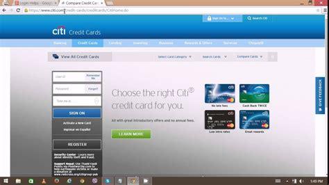 Citicard Login   Citibank Login problem | Citibank Online ...