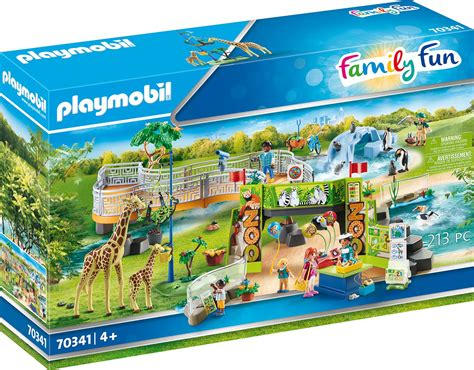 City Life 70341 Mein großer Erlebnis Zoo Playmobil