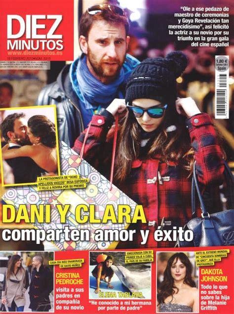 Clara Lago y Dani Rovira comparten amor y éxito en Diez ...