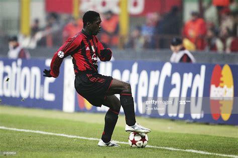 Clarence Seedorf of AC Milan during the UEFA Champions ...