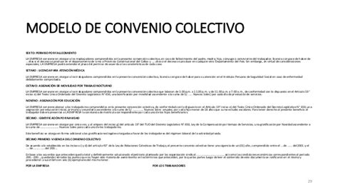 Clase 6 el convenio colectivo