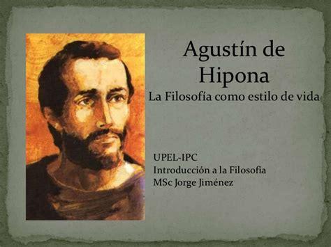 Clase de agustín de hipona