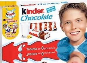 Clases con Kinder Chocolate | conHijos.es