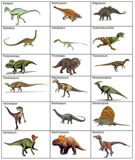 Clases De Dinosaurios Nombres   SEONegativo.com