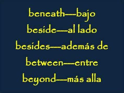 CLASES DE INGLES BASICO #7. LAS PREPOSICIONES INGLES 1/2 ...