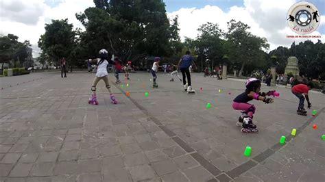Clases de patinaje en el Parque El Llano Oaxaca con la ...