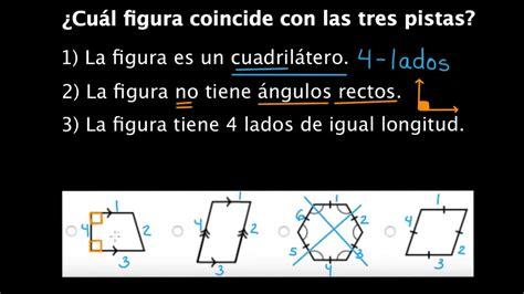 Clasificación de figuras por líneas y ángulos | Geometría ...