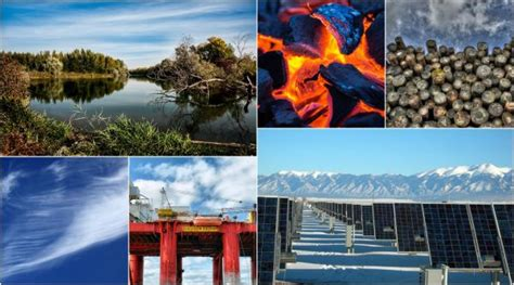 clasificación de los recursos naturales