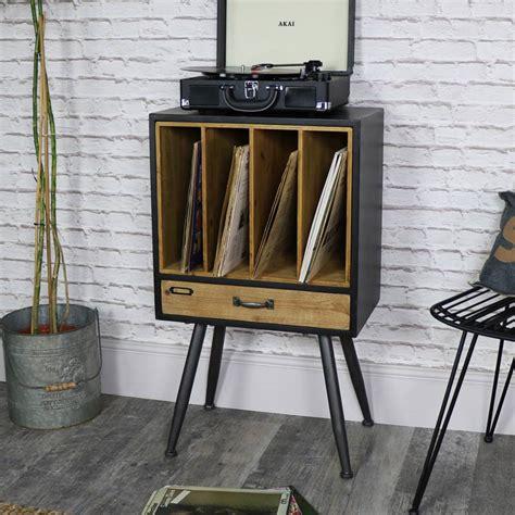 Classic retro vintage vinyl record storage filing cabinet ...