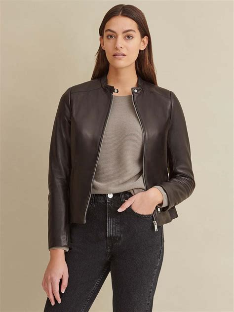 Classic Scuba Leather Jacket   Wilsons Leather