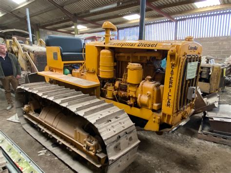 Classic Tracked Type Tractors Uncovered