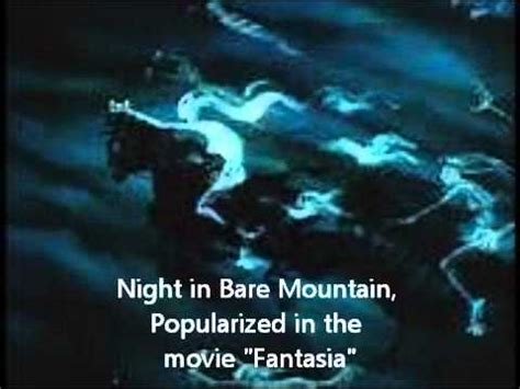 Classical Music   MUSSORGSKY   Night in Bare  bald ...