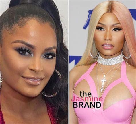 Claudia Jordan Claims Nicki Minaj Fans Threatened Her 69 ...