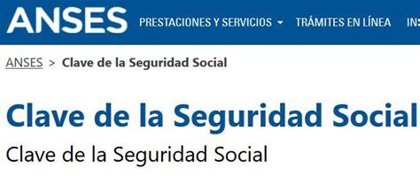 clave de la Seguridad Social | Plan mas vida   Visa vale ...