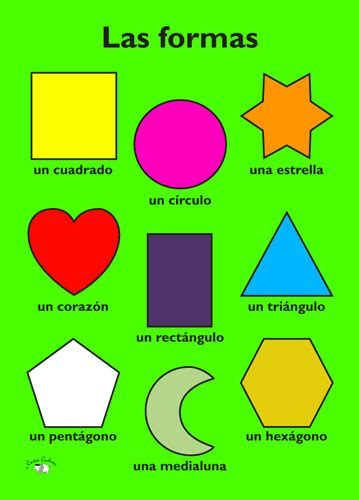 ClaxFactor: Tuesday Sept. 22nd: Ms. P Shapes in Spanish ...