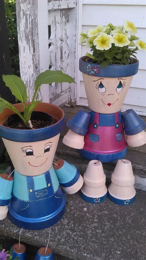 clay pot girl or boy | clay pots | Pinterest | Girls, Boys ...