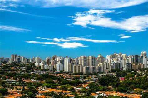 Clear Skyline of Sao Paulo in Brazil image   Free stock ...