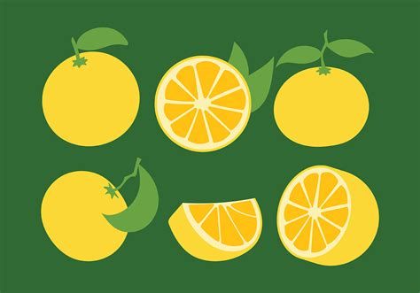 Clementine Vector Icons   Download Free Vectors, Clipart ...