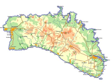 ClickMenorca   Menorca Map