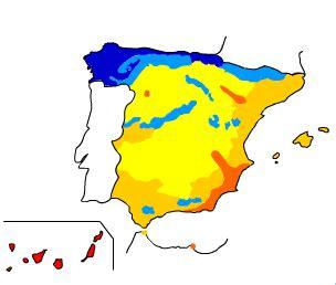 Climogramas de África | Climatic | Educaplus