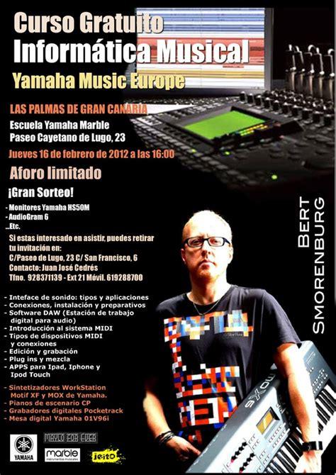 Clinic de Producción Musical Yamaha en Las Palmas con ...