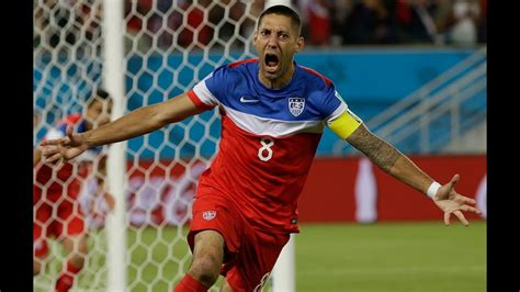 Clint Dempsey All World Cup Goals 2006 2014 Captain ...