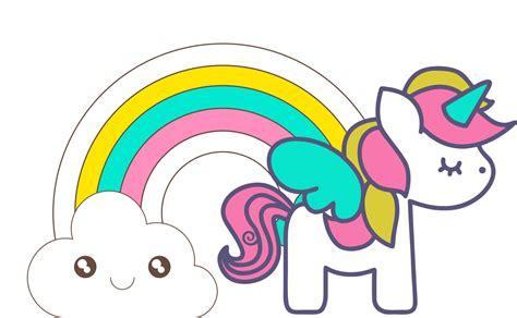 Clipart de Unicornios para Scrapbook.   Oh My Bebé!