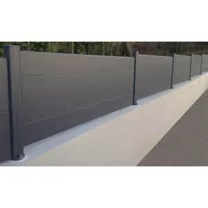 Cloture grillage rigide gris | Aménagement jardin clôture