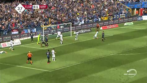 Club Brugge  2  vs  3  Gent Liga Belgica   YouTube
