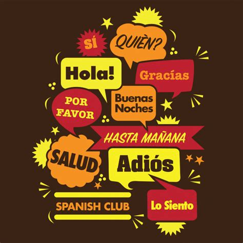 Club de espanol | Vector Premium