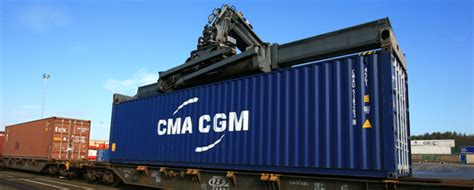 CMA CGM: different goods, different means of transport ...