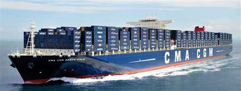 CMA CGM Marco Polo container ship