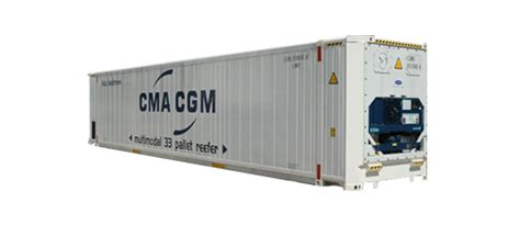 CMA CGM   Reefer containers & technologies