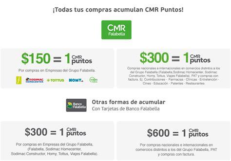 Cmo Acumular CMR Puntos? | CMR Falabella