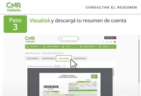 CMR Falabella【 Ver Resumen de Cuenta 】Online