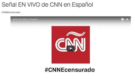 CNN en Español offers YouTube livestream After Venezuela ...