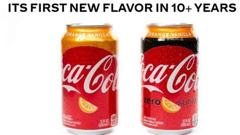 Coca Cola anuncia lanzamiento de nuevo sabor