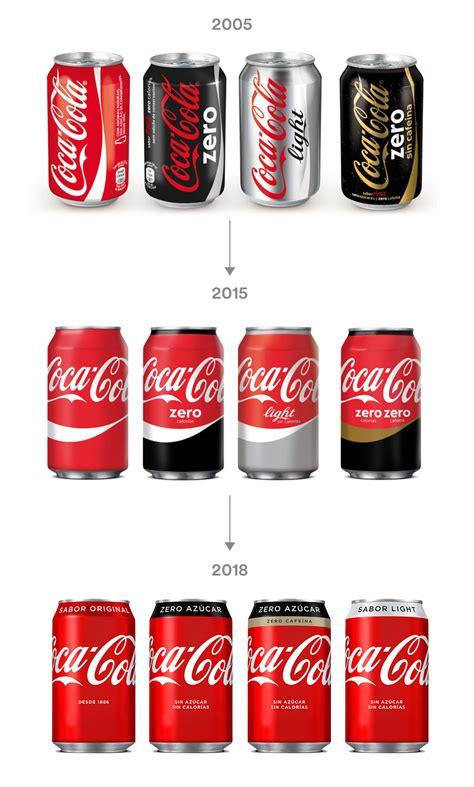 Coca Cola cambia el diseño de sus latas con su nueva ...