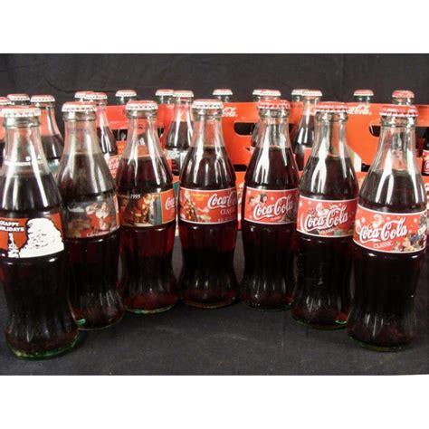Coca Cola Christmas 6 Packs: 38 Full Bottles Coke Lot