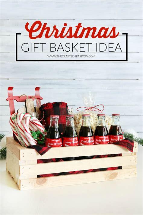 Coca Cola Christmas Gift Basket Idea + Free Printable Tags ...
