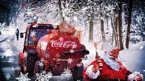 Coca Cola Christmas Song   Coca Cola Christmas Trucks Long ...